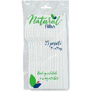 bibo coltelli natural biodegradabili e compostabili pz.15