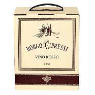 borgo cipressi vino rosso bag in box lt.5