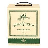 borgo cipressi  vino bianco bag in box lt.5