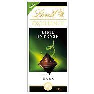 lindt tavoletta cioccolato excellence lime intense gr.100