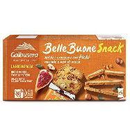 galbusera bellebuone snack sottili  con fichi  nocciole e semi di zucca gr.150