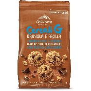 galbusera biscotti  cereali g con pezzi di cioccolato gr.300