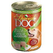 special dog pate` con vitello e ortaggi gr.400