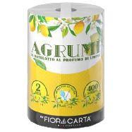 fior di carta monorotolo agrumi 2 veli  400 strappi