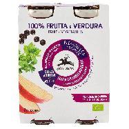 alce nero frutta e verdura bio  mela sedano e aronia ml.200 x 2