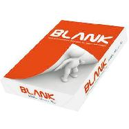 carta per fotocopie blank a4