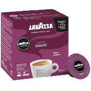 lavazza a modo mio caffe espresso lungo dolce intensità 6/13 16 cps gr.128