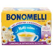 bonomelli camomilla con melatonina e magnesio 14 filtri gr.35