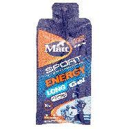 matt sport energy long gel gusto agrumi ml.30